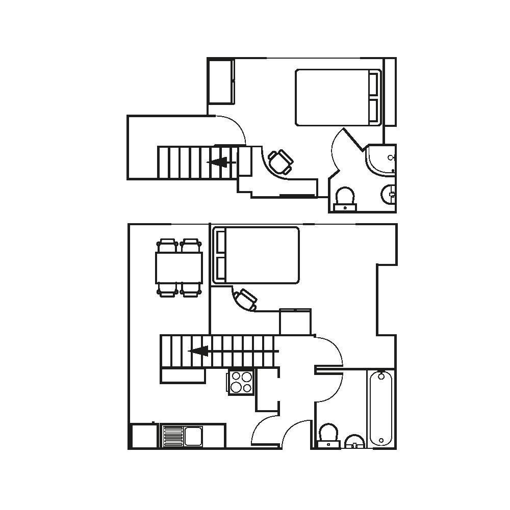 duplex floor plan student accommodation birmingham